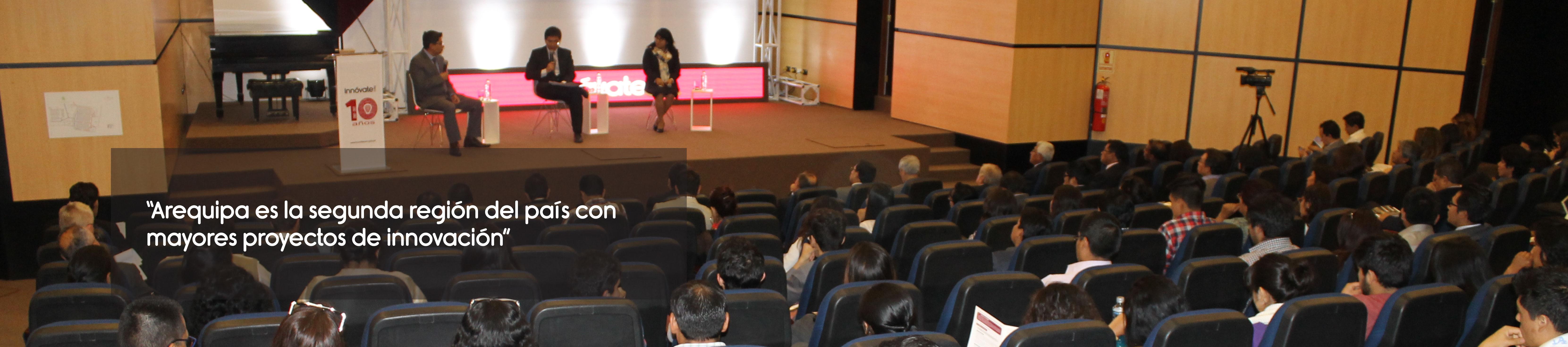 Arequipa es la segunda región del país con mayores proyectos de innovación
