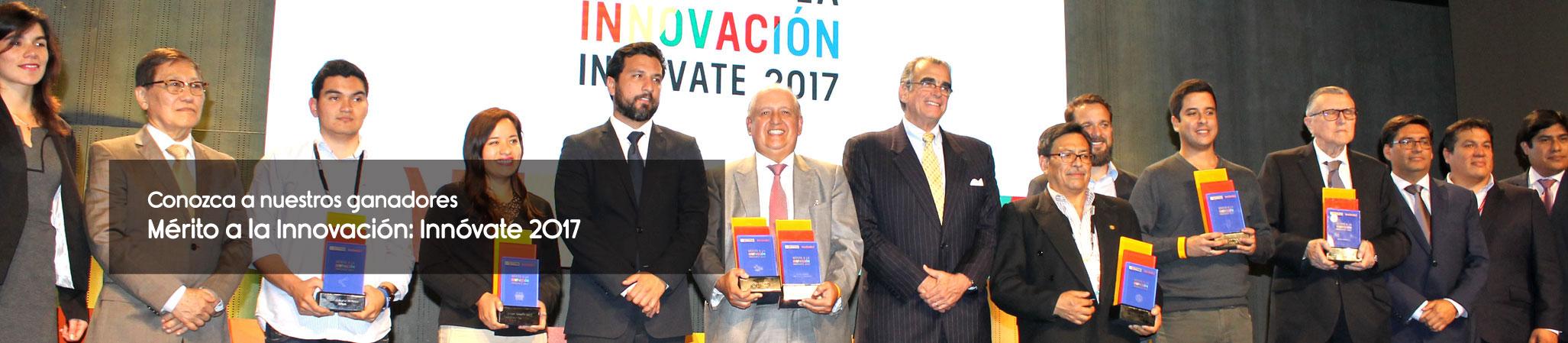 Mérito a la innovación 2017