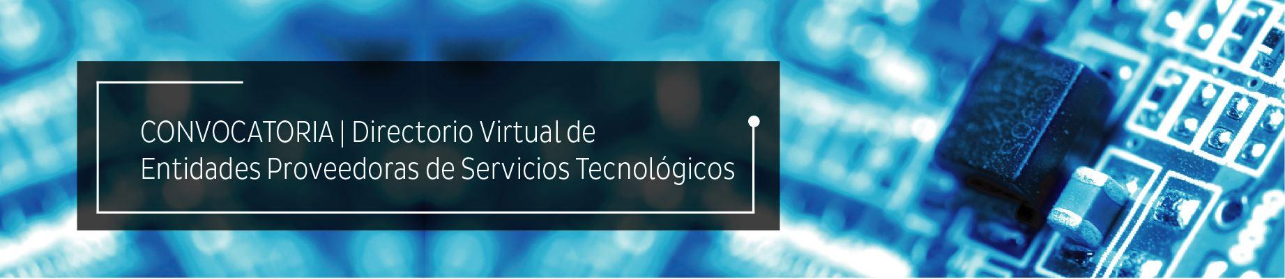 convocatoria servicios tecnológicos