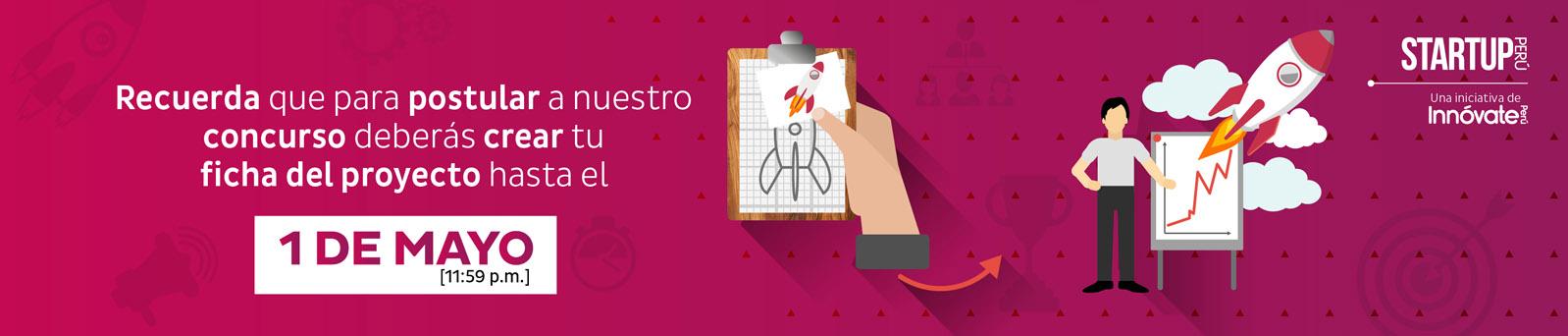 Startup Perú - cierre 1 mayo